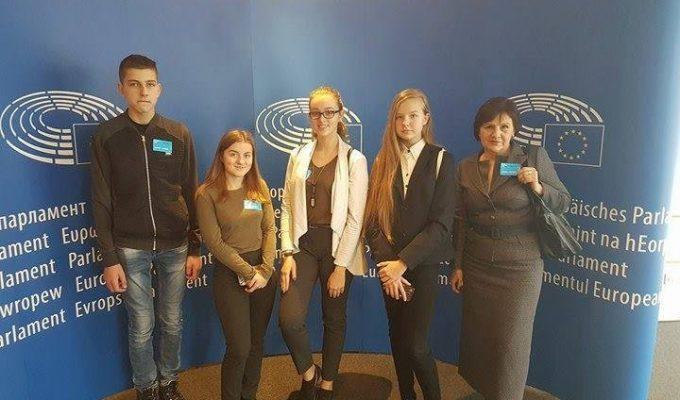 Vizitas Europos Parlamente
