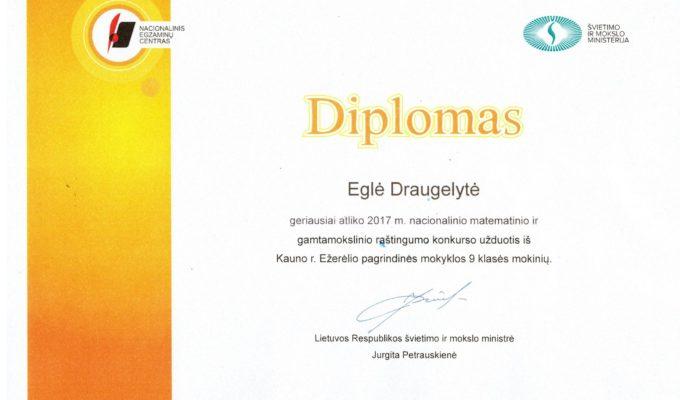 Švietimo ir mokslo ministrės apdovanojimai