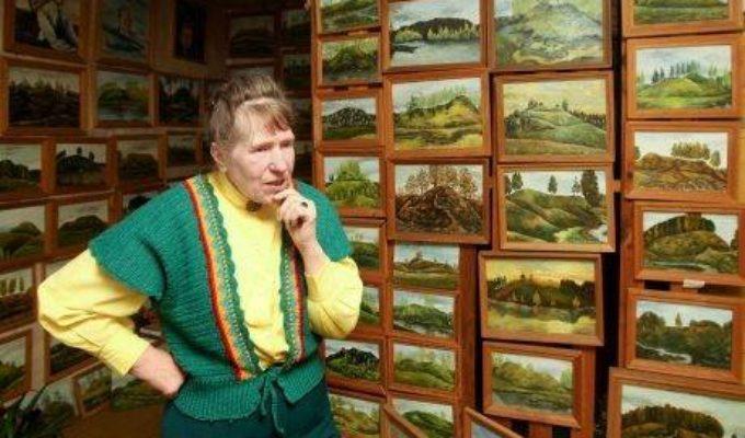 Elenos Krušinskaitės tapybos paroda