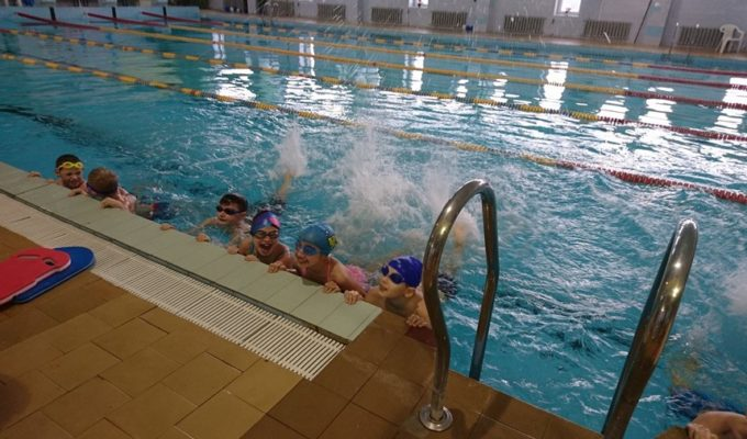 Vaikų mokymosi plaukti programa