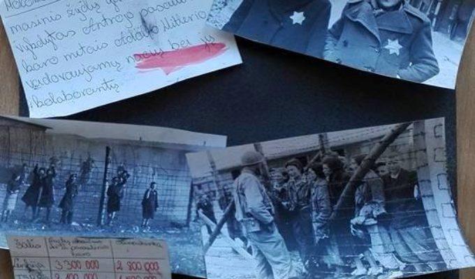 Lietuvos žydų genocido aukų atminimo dienos paminėjimas