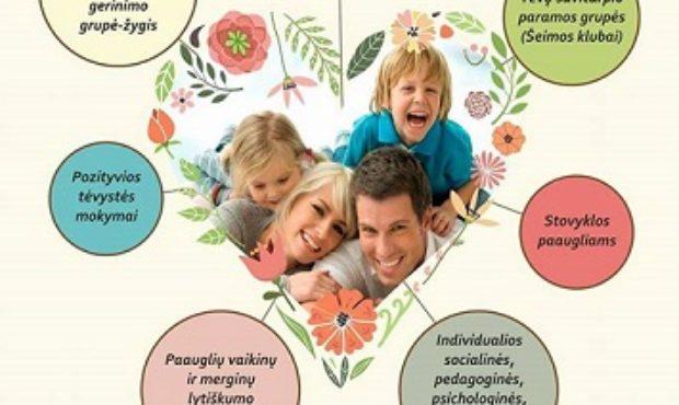 Pozityvios tėvystės mokymai mokykloje
