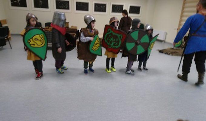 Vikingų kaimo edukacijoje