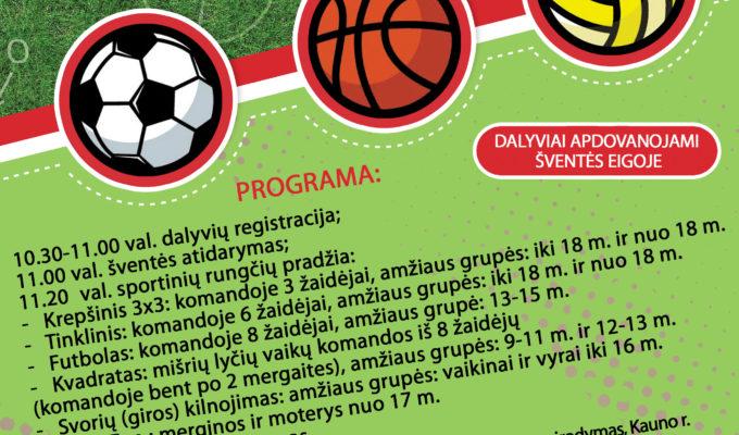 Ežerėlio miesto sporto šventė