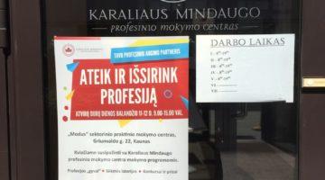 Karaliaus Mindaugo profesinio mokymo centre